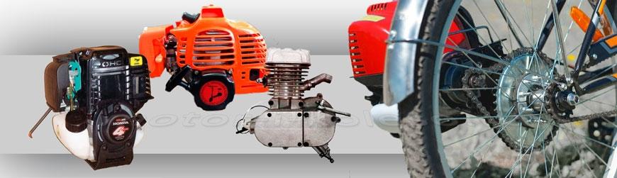 Моторы бензиновые, веломоторы