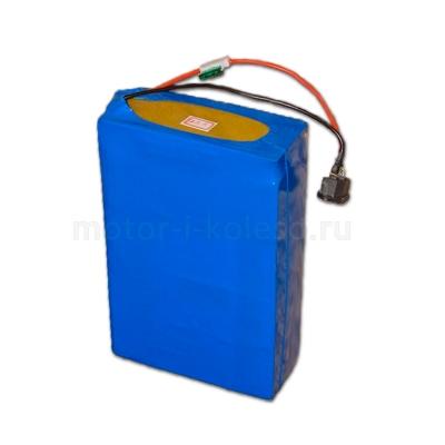 Литиевый аккумулятор Li (литий-железо-фосфатный LiFePO4, LFP) 48v 12Ah для скутеров