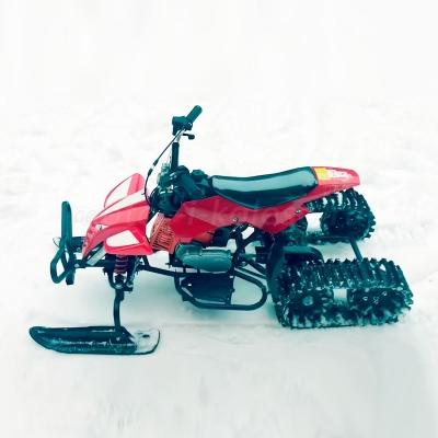 Детский снегоход квадроцикл Snowquadro на бензине
