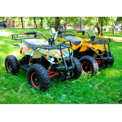Электроквадроцикл для детей 500w - Mytoy 500D усиленный