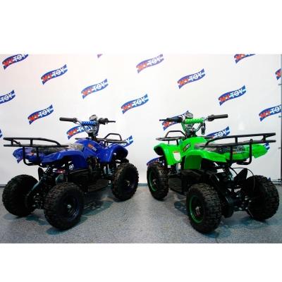 Электроквадроциклы для детей Mytoy 36v 800w синий и зеленый
