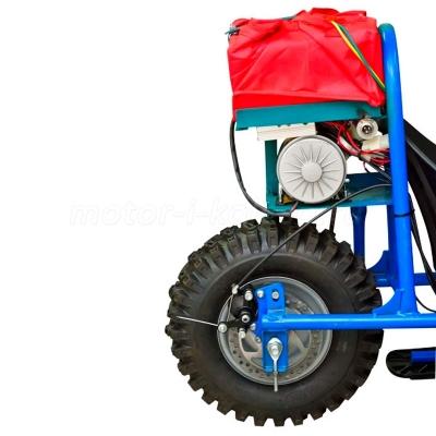 Аккумулятор с мотором детского снегоката 250Вт