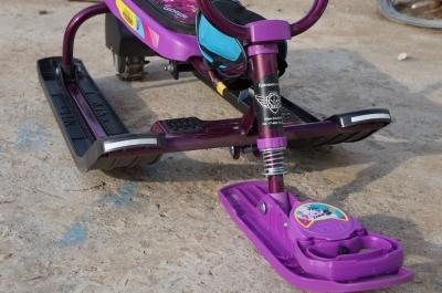 Передняя лыжа с буксировочной веревкой электроснегокат детский Li-ion 36В 250Вт