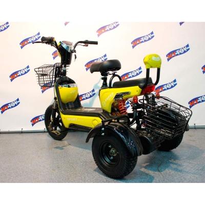 Трицикл электрический с регулировкой максимальной скорости