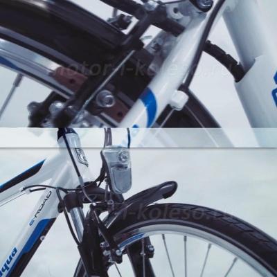 Электровелосипед Black Aqua E-Road 700С - тормоза V-brake