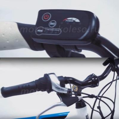 Электровелосипед Black Aqua E-Road 2813 V - PAS ассистент на руле