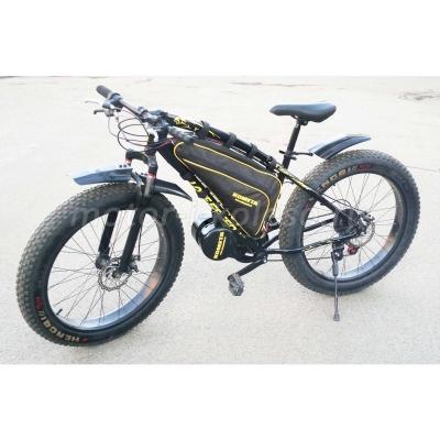 Электро фэтбайк Fatbike 72v Kometa mid-drive - с приводом к педалям.