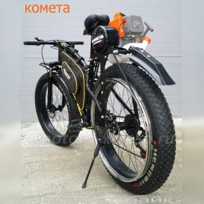 Fatbike-Trembita с мотором Комета 63cc.