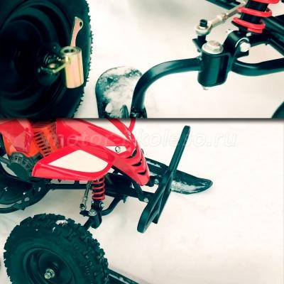 Передние колеса снегохода-вездехода Snowquadro