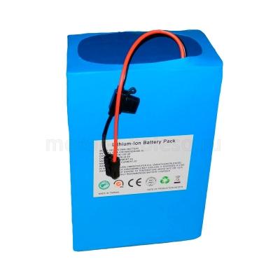 Литиевый аккумулятор Li-ion 48В 28Ач 13S13P для электросамокатов