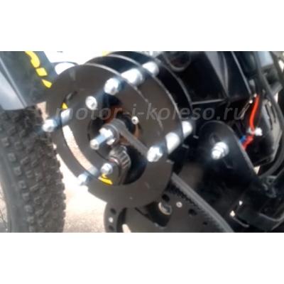 Веломотор Kometa 49сс 1-я ступень передачи на фэтбайке