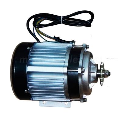 Электромотор с редуктором бесколлекторный 48В, 500Вт