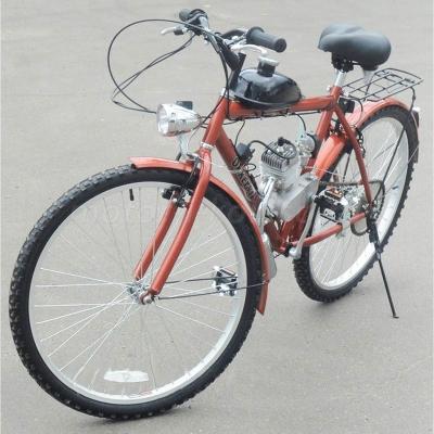 Велосипед с мотором F60 (мотовелосипед, веломопед)