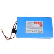Литий-ионный аккумулятор Li-ion 48V 20Ah ток 40/120А
