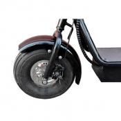 Переднее колесо электроскутер Citycoco 800W double seat