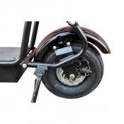 Заднее колесо электроскутер Citycoco 800W double seat