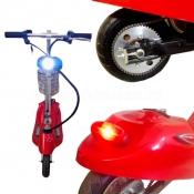 Передняя LED фара, стоп сигнал и поворотники SF-8 Mini