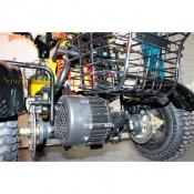 Мотор 48В 500Вт встроенный в задний мост с полноценным дифференциалом электротрицикла 500D