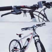 Руль электровелосипеда Black Aqua E-Cross 2611 D/V
