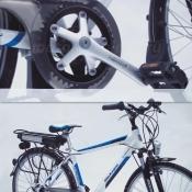 Электровелосипед Black Aqua E-Road 7 скоростей