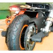 Цепная передача с обгонной муфтой на заднне колесо ES-03