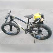Велокомета - фэтбайк с бензомотором 63 куб.см.