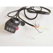 Курок газа с LED индикацией 48В и кнопкой