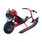 Снегокат для детей с мотором 49сс (мотоснегокат)