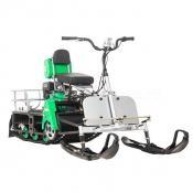 Мотобуксировщик Мухтар 7 с лыжным модулем (мини снегоход)
