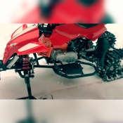 Мотор 49сс деского снегохода Snowquadro SQ-1 на бензине