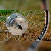 """Редукторное велосипедное мотор-колесо A85 20"""" 36В-48В"""