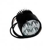 Передняя светодиодная LED фара 24/36/48/60V 20W для электросамоката