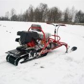 Cнегоход Хаски - миниснегоход