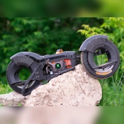 Мотоскейтборд (стендбайк) Wheelman King с духтактным двигателем 63cc