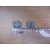 Размеры прямоугольных тормозных колодок для мотосамокатов и электросамокатов