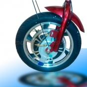 Переднее мотор-колесо Zappy 500W с барабанным тормозом