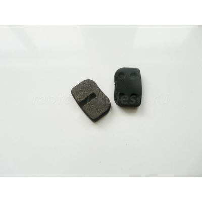 Прямоугольные тормозные колодки для мотосамоката типа Вектор, электросамокатов типа EVO, Headway