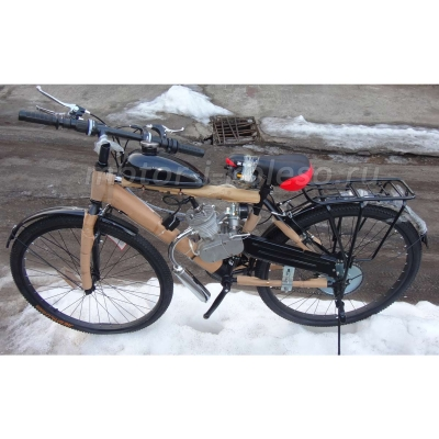 Велосипед с мотором F50 - мотовелосипед