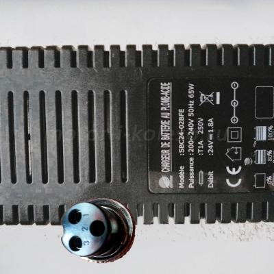 Блок питания импульсный 24В 1,8А для SLA аккумуляторов